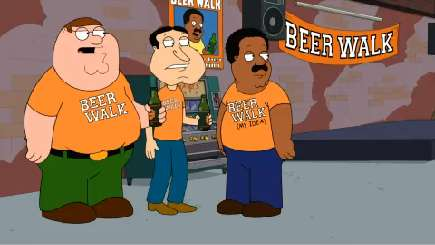 The Cleveland Show | Beer Walk